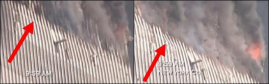 WTC-perimeter-columns-buckling-during-south-tower-collapse-911