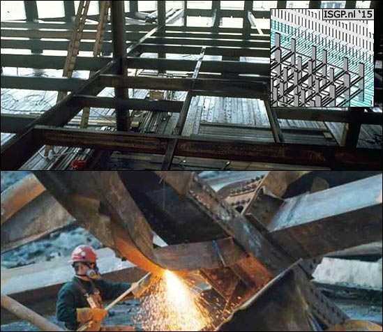 WTC-911-horizontal-beams-between-core-columns