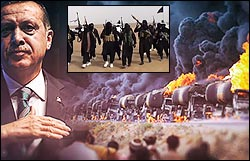 Erdogan's Turkey: bought billions in ISIS oil.