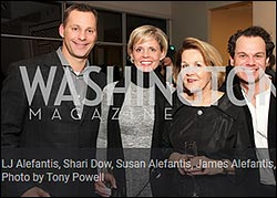 Chris Kloman-supporting Susan Alefantis with James Alefantis at a Media Matters party in 2009.