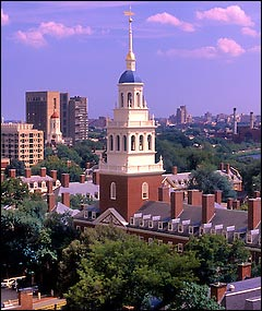 Harvard University: Pilgrims Society central.