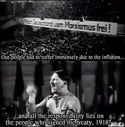 Hitler speeches on reparations. Translated.