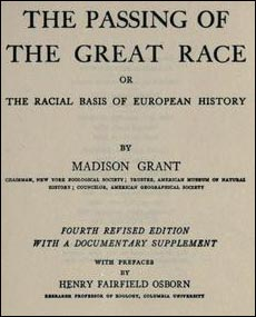 Passing of the Great Race book